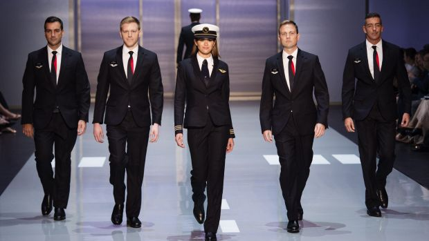 Qantas Unveils New Pilot Uniforms Main Image